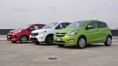 KIA Picanto 2016 vs Opel Karl vs Suzuki Celerio - Immagine: 11