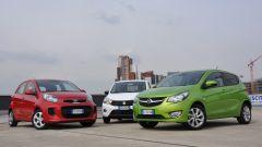 KIA Picanto 2016 vs Opel Karl vs Suzuki Celerio - Immagine: 1