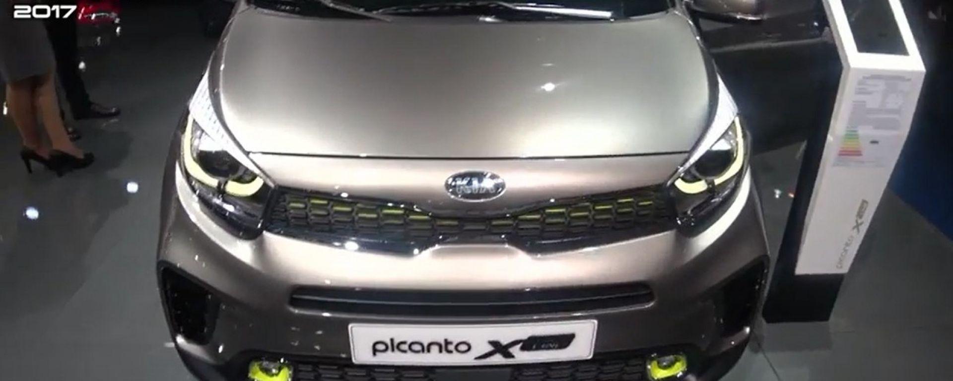 Kia Picanto X-Line: mini-SUV da 100 CV a Francoforte