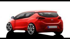 Kia pro cee'd 2012: il bozzetto a colori - Immagine: 1