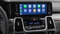 Kia Sorento 2021, il display dell'infotainment