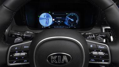 Kia Sorento Hybrid 2021, cosa si vede dal Blind Spot Viw Monitor
