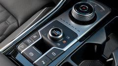 Kia Sorento Hybrid 2021, i comandi nella console centrale