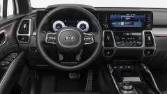 Kia Sorento Hybrid 2021, il volante