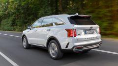 Kia Sorento Hybrid 2021, la prova su strada