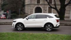 Kia Sorento1.6 T-GDi Hybrid Evolution: il test drive in città