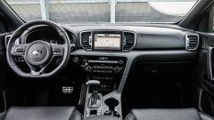 Kia Sportage 1.7 crdi 141 cv diesel GT Line, gli interni