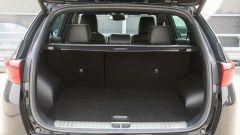 Kia Sportage 1.7 crdi 141 cv diesel GT Line, il bagagliaio è di 503 litri
