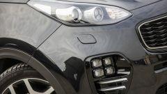 Kia Sportage 1.7 crdi 141 cv diesel GT Line, le luci fendinebbia
