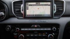 Kia Sportage 1.7 crdi 141 cv diesel GT Line, l'infotainment