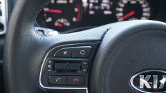 Kia Sportage 2.0 CRDI AWD GT Line: i comandi al volante