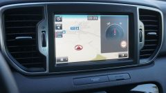 Kia Sportage 2.0 CRDI AWD GT Line: lo schermo da 8 pollici