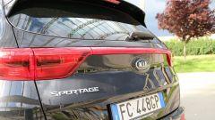Kia Sportage: anche al posteriore sono evidenti le modifiche di stile rispetto alla precedente generazione