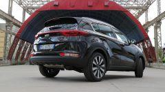 Kia Sportage: il posteriore