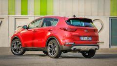 Kia Sportage: vista 3/4 posteriore