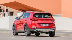 Kia Sportage: vista posteriore