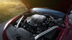 Kia Stinger 2018: trazione posteriore abbinata a motoreV6 da 365 CV e e 510 Nm di coppia