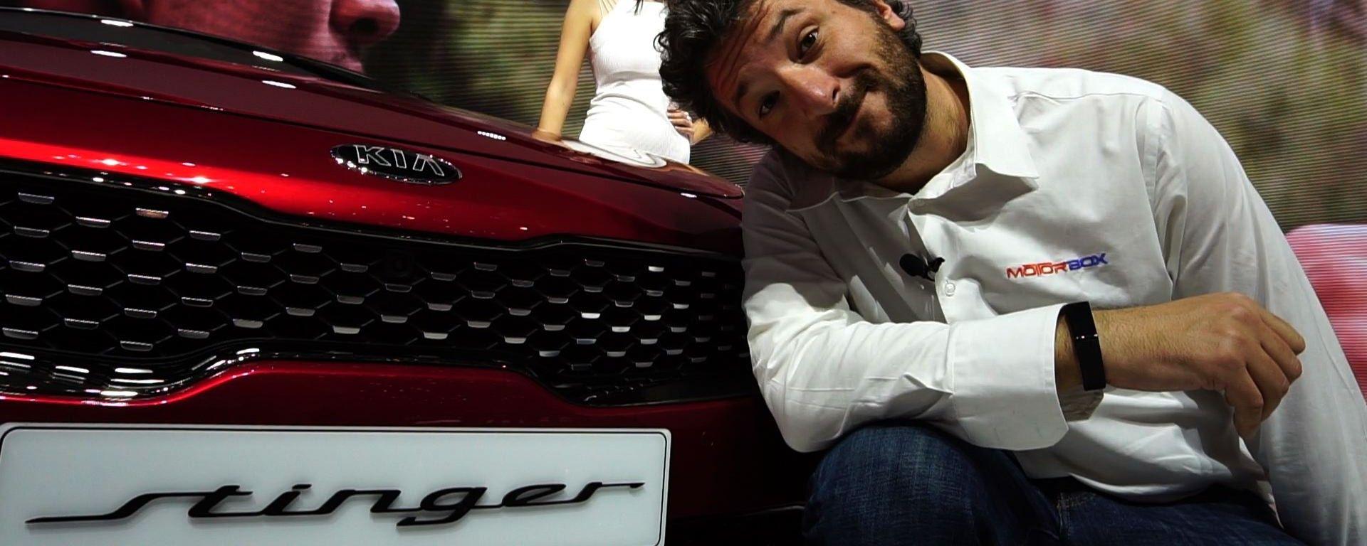 Kia Stinger GT: in video dal Salone di Ginevra 2017