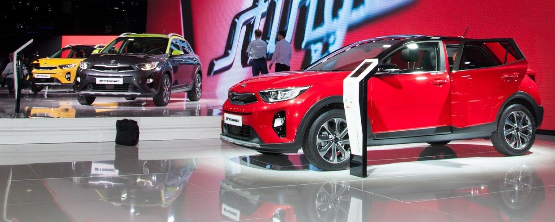 Kia Stonic: a tu per tu con il piccolo SUV di Kia