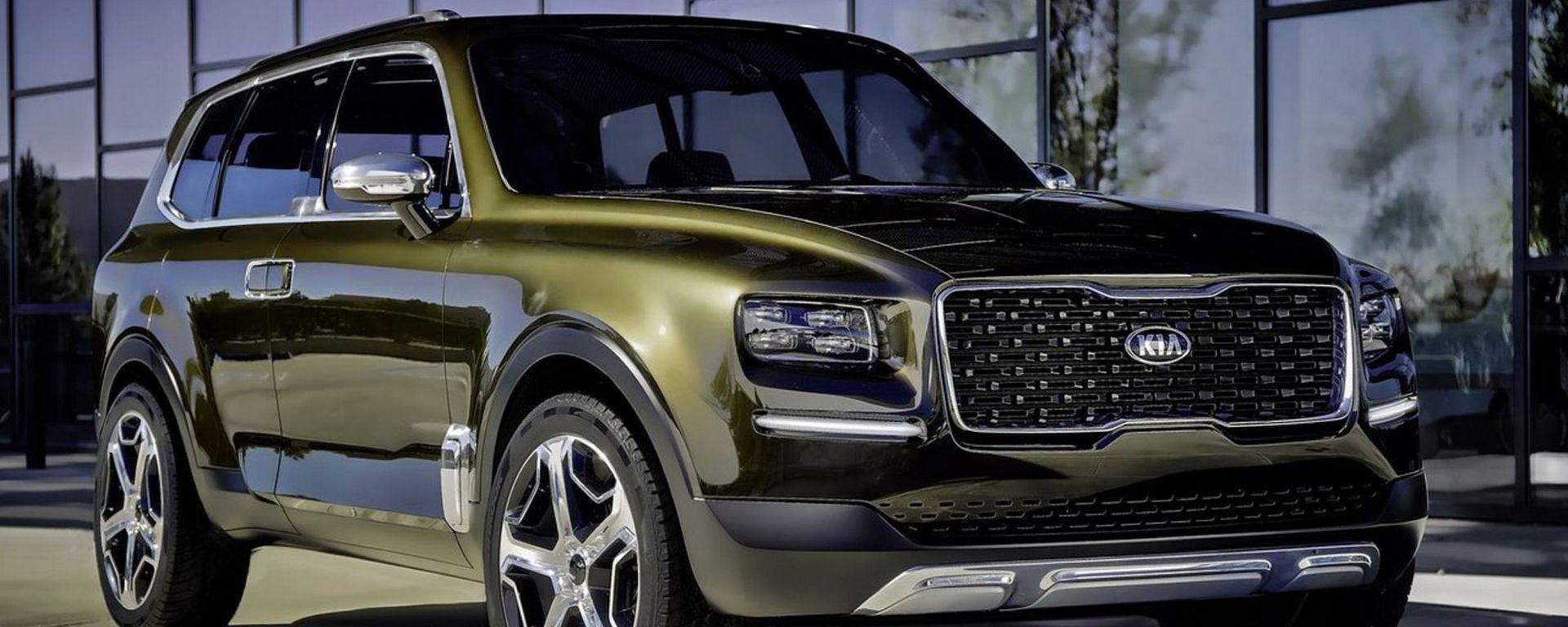 Kia Telluride: il modello di serie potrebbe arrivare già nel 2020