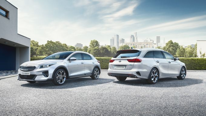 Kia Xceed e Ceed Sportswagon Hybrid Plug-In