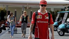 Kimi Raikkonen ad Abu Dhabi