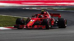 Kimi Raikkonen al GP di Spagna