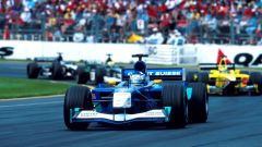 Kimi Raikkonen - all'esordio in Australia con la Sauber Petronas C20 (4 marzo 2001)