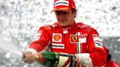 Kimi Raikkonen - Campione del Mondo 2007 con la Ferrari