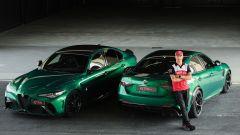 Kimi Räikkönen con Giulia GTA e GTAM