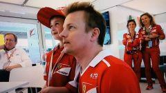 Kimi Raikkonen e il piccolo Tomàs (2)