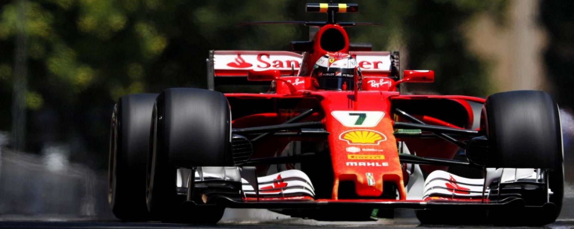 Kimi Raikkonen - F1 2017, Circuito Baku