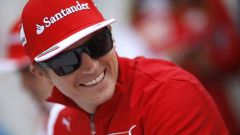 GUARDA l'intervista video di Kimi Raikkonen - GP Belgio