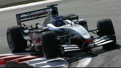 Kimi Raikkonen, il passaggio alla McLaren-Mercedes nel 2002