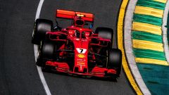 Kimi Raikkonen in azione in Australia