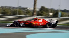 Kimi Raikkonen in azione nelle FP1 di Abu Dhabi
