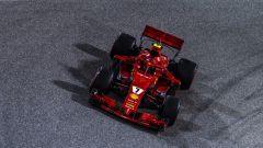 Kimi Raikkonen in azione sulla Ferrari SF71H