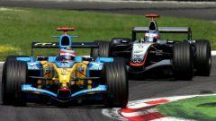 Kimi Raikkonen, la lotta con Fernando Alonso nel 2005
