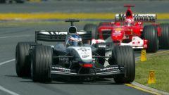 Kimi Raikkonen, la lotta con Michael Schumacher nel 2003