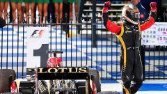 Kimi Raikkonen, la sua ultima vittoria in Lotus nel GP d'Australia 2013