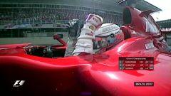 Kimi Raikkonen è campione del mondo con la Ferrari - F1 2007