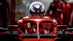 Kimi Raikkonen su Ferrari SF71H