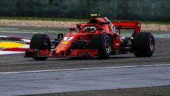 Kimi Raikkonen sulla Ferrari SF71H