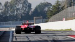 Kimi Raikkonen - test pre-stagionali 2017 Circuit Catalunya