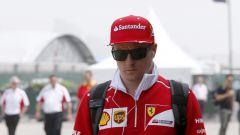 """F1 2017, GP Inghilterra, Kimi Raikkonen: """"Questo non è l'inizio di stagione che volevo"""""""