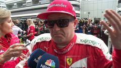 """F1 2017, GP Inghilterra, Kimi Raikkonen: """"Non so cosa sia successo alla mia gomma"""""""