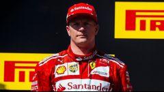 """F1 2017, GP Belgio, Kimi Raikkonen: """"Rimango in Ferrari perchè voglio correre e vincere"""""""