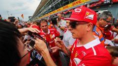 """F1 2017, GP Monza e Italia, Kimi Raikkonen: """"Faremo di tutto per vincere"""""""