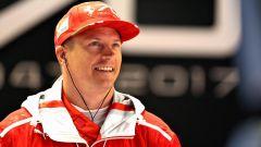 Kimi Raikkonen: a 38 anni il pilota della Ferrari è il più anziano della F1