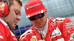 """F1 2017   GP USA, Raikkonen: """"La terza fila non è il massimo"""""""